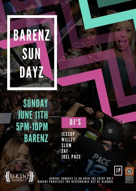 Barenz Sundayz June 2017